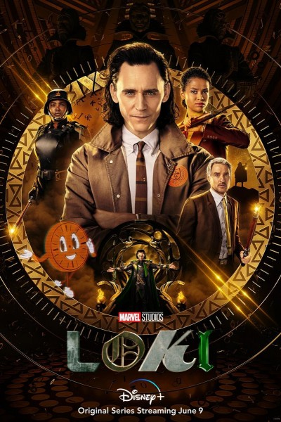 Caratula, cartel, poster o portada de Loki