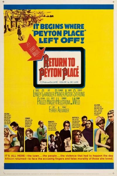 Caratula, cartel, poster o portada de Regreso a Peyton Place