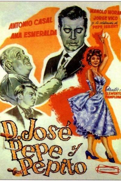 Caratula, cartel, poster o portada de Don José, Pepe y Pepito
