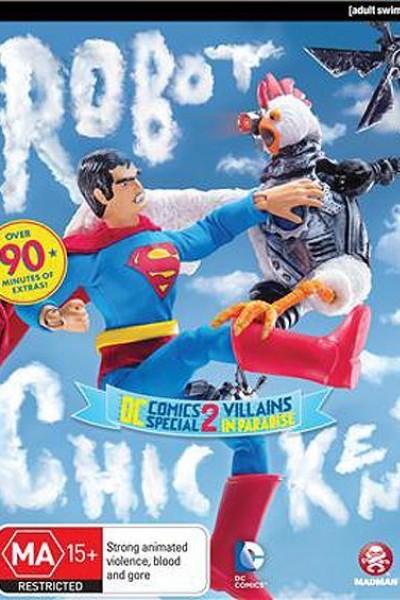 Caratula, cartel, poster o portada de Robot Chicken DC Comics Special II: Villains in Paradise