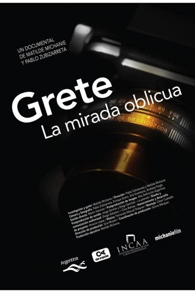 Caratula, cartel, poster o portada de Grete, la mirada oblicua