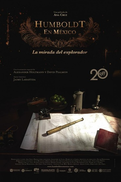 Caratula, cartel, poster o portada de Humboldt en México. La mirada del explorador
