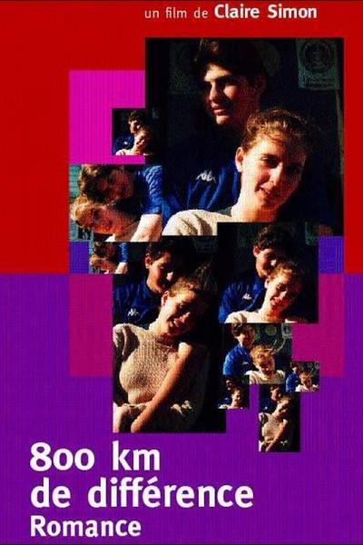 Caratula, cartel, poster o portada de 800 km de différence - Romance