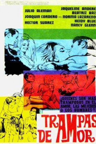Caratula, cartel, poster o portada de Trampas de amor