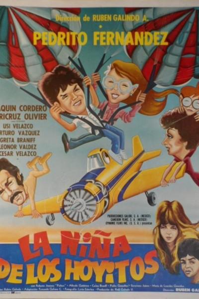 Caratula, cartel, poster o portada de La niña de los hoyitos