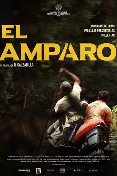 Caratula, cartel, poster o portada de El amparo