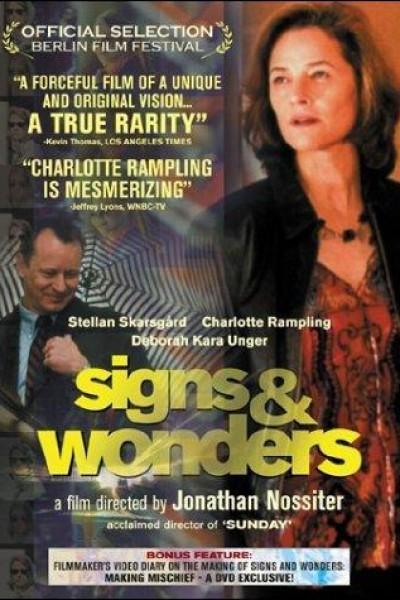 Caratula, cartel, poster o portada de Signs & Wonders