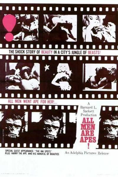 Caratula, cartel, poster o portada de All Men Are Apes!