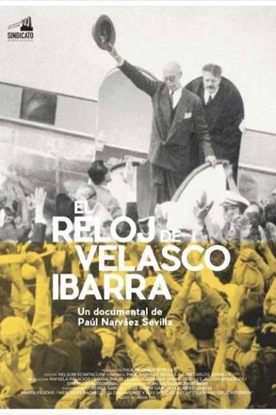 Caratula, cartel, poster o portada de El reloj de Velasco Ibarra