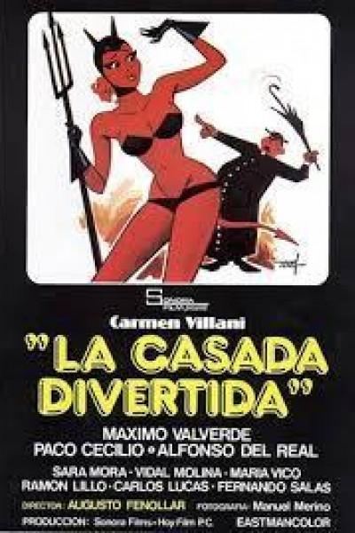 Caratula, cartel, poster o portada de La casada divertida