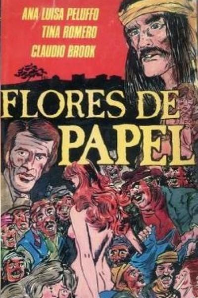 Caratula, cartel, poster o portada de Flores de papel
