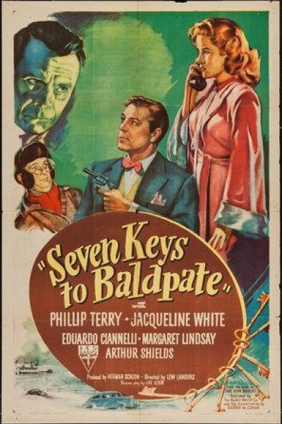 Caratula, cartel, poster o portada de Seven Keys to Baldpate