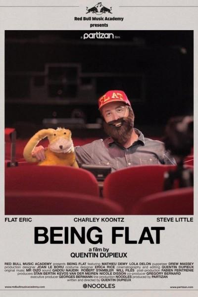 Caratula, cartel, poster o portada de Being Flat