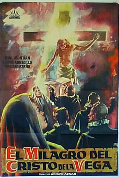 Caratula, cartel, poster o portada de El milagro del Cristo de la Vega