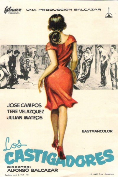 Caratula, cartel, poster o portada de Los castigadores