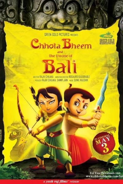 Caratula, cartel, poster o portada de Chhota Bheem and the Throne of Bali