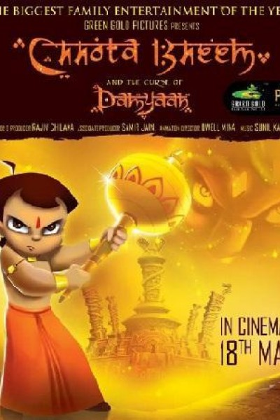 Caratula, cartel, poster o portada de Chhota Bheem and the Curse of Damyaan