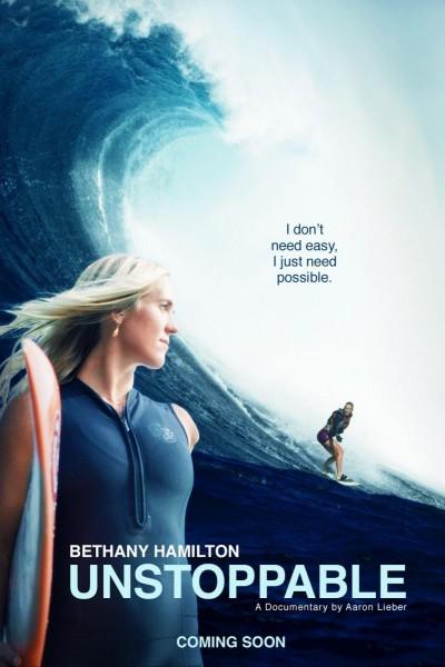 Caratula, cartel, poster o portada de Bethany Hamilton: Unstoppable
