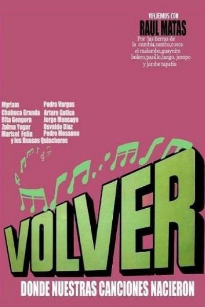 Caratula, cartel, poster o portada de Volver
