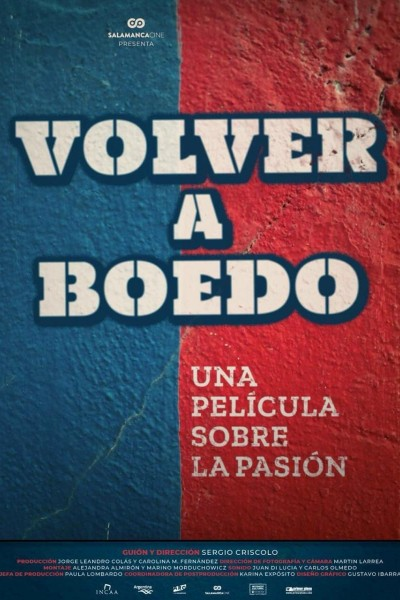 Caratula, cartel, poster o portada de Volver a Boedo