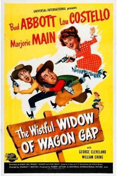Caratula, cartel, poster o portada de The Wistful Widow of Wagon Gap