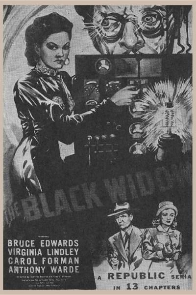 Caratula, cartel, poster o portada de La viuda negra