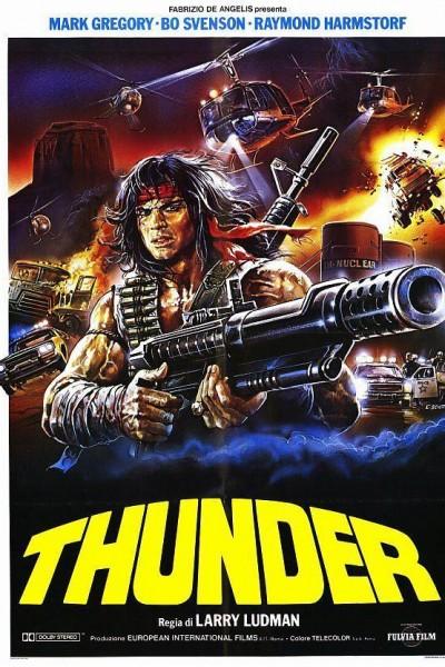 Caratula, cartel, poster o portada de Thunder