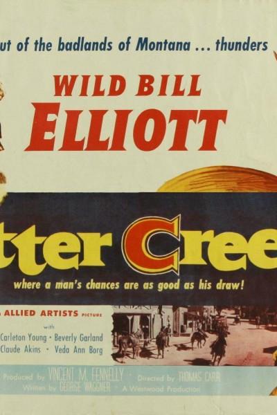 Caratula, cartel, poster o portada de Bitter Creek