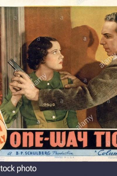 Caratula, cartel, poster o portada de One-Way Ticket