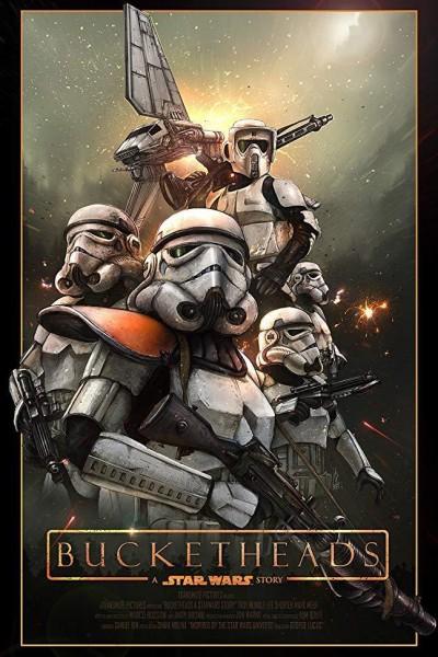 Caratula, cartel, poster o portada de Bucketheads: A Star Wars Story