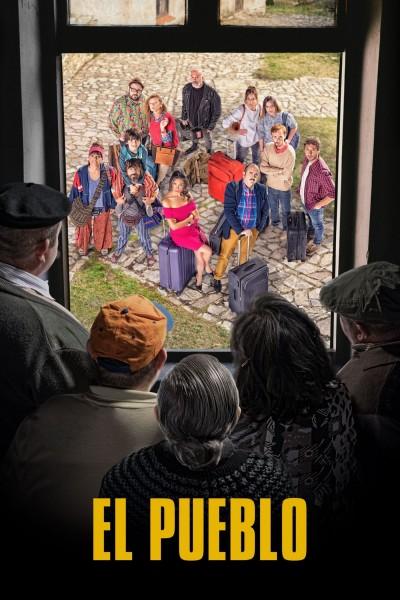Caratula, cartel, poster o portada de El pueblo