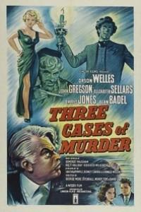 Caratula, cartel, poster o portada de Tres casos de asesinato