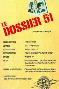 Caratula, cartel, poster o portada de El dossier 51