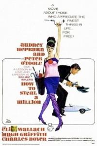 Caratula, cartel, poster o portada de Cómo robar un millón y...