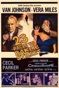 Caratula, cartel, poster o portada de A 23 pasos de Baker Street