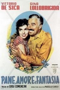 Caratula, cartel, poster o portada de Pan, amor y fantasía