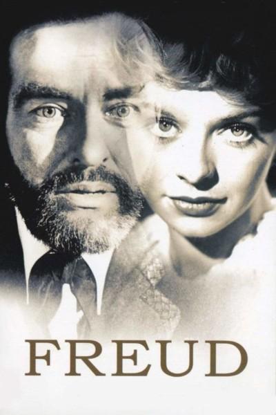 Caratula, cartel, poster o portada de Freud, pasión secreta