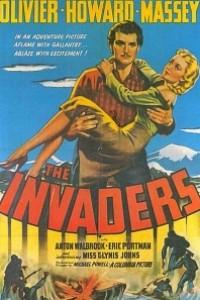 Caratula, cartel, poster o portada de Los invasores