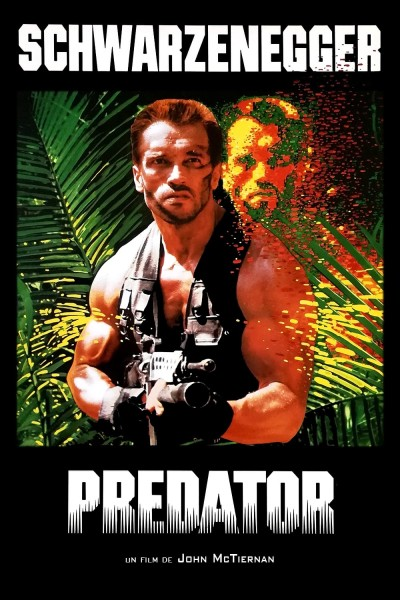 Caratula, cartel, poster o portada de Depredador