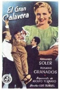 Caratula, cartel, poster o portada de El gran calavera