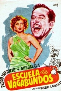 Caratula, cartel, poster o portada de Escuela de vagabundos