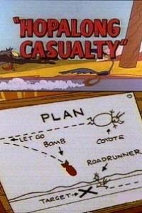 Caratula, cartel, poster o portada de El Coyote y el Correcaminos: Hopalong Casualty