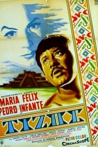Caratula, cartel, poster o portada de Tizoc (Amor indio)
