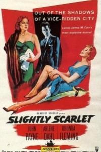 Caratula, cartel, poster o portada de Ligeramente escarlata
