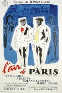 Caratula, cartel, poster o portada de El aire de París