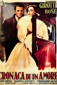 Caratula, cartel, poster o portada de Crónica de un amor