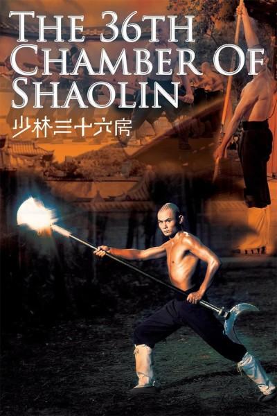 Caratula, cartel, poster o portada de Las 36 cámaras de Shaolin