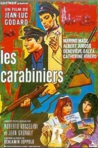 Caratula, cartel, poster o portada de Los carabineros
