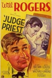 Caratula, cartel, poster o portada de El juez Priest
