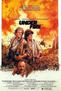 Caratula, cartel, poster o portada de Bajo el fuego